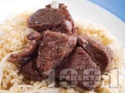 Афелия (Свинско с кориандър в червено вино) - снимка на рецептата